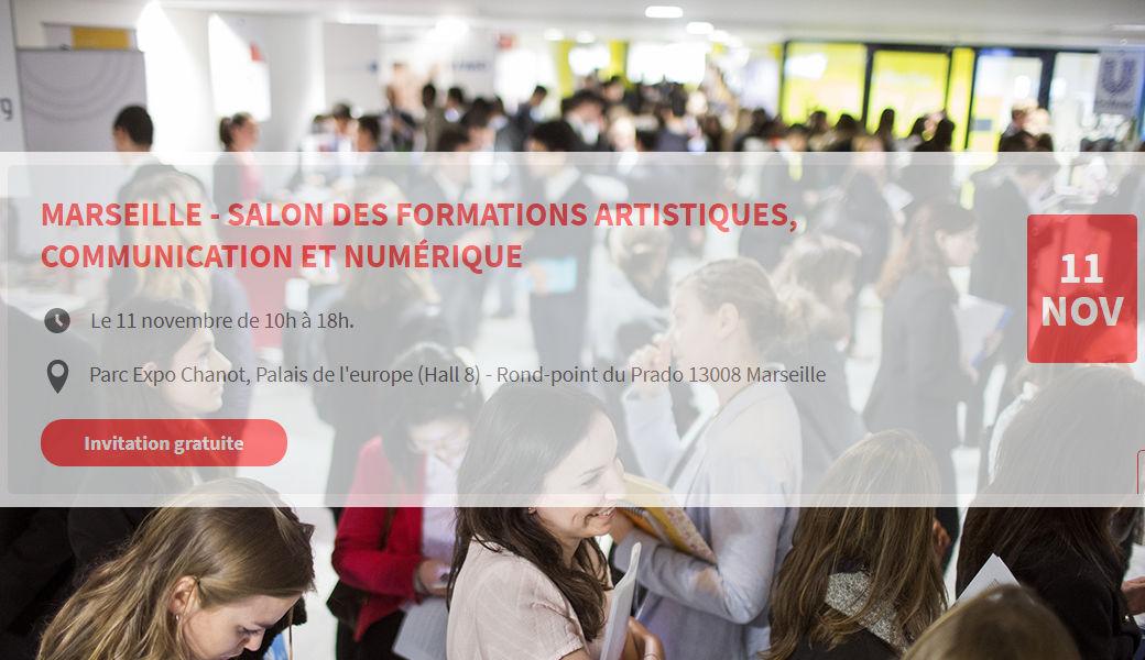 Salon l etudiant des formation artistiques communication for Salon formation artistique