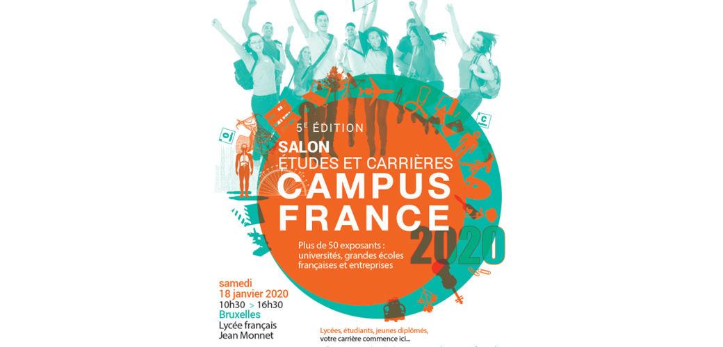 Salon études et carrières Campus France Bruxelles 2020 - KEDGE