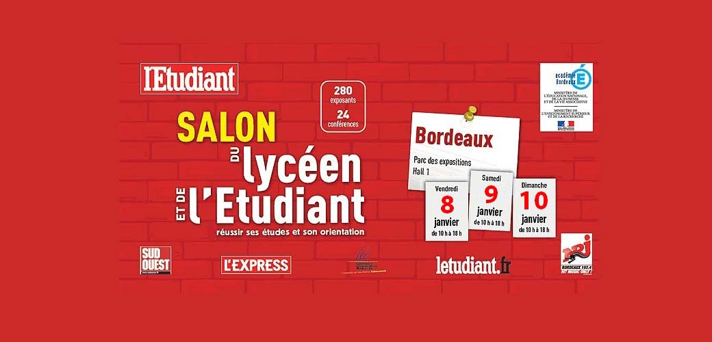 Salon de l 39 etudiant de bordeaux kedge business school for Porte ouverte salon de l etudiant